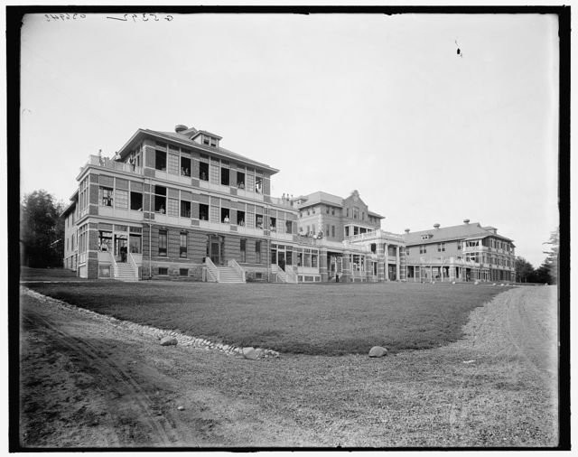 [Saranac Lake, state sanatorium, Ray Brook, Adirondacks, N.Y.]