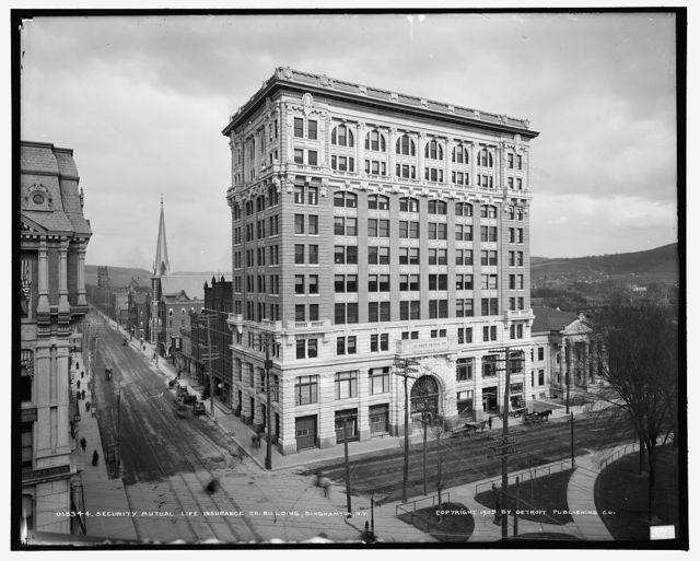Security Mutual Life Insurance Co. building, Binghamton, N.Y.