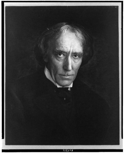 [Sir Henry Irving, head-and-shoulders portrait, facing slightly right]
