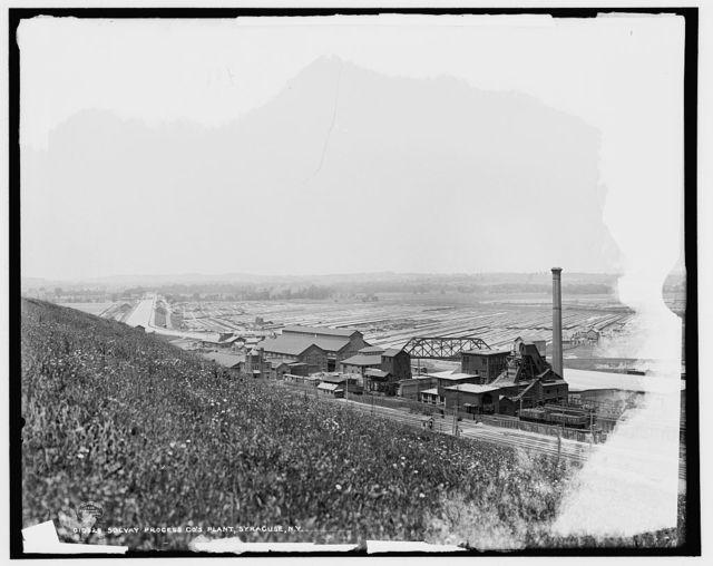 Solvay Process Co.'s plant, Syracuse [i.e. Solvay], N.Y.