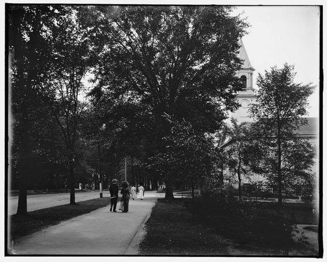 [South Street from east, Pittsfield, Mass.]