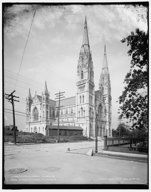St. Paul's Cathedral, Pittsburg, Pa.