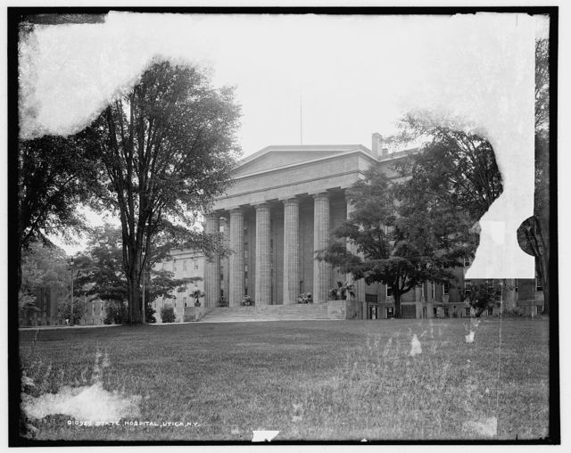 State Hospital, Utica, N.Y.