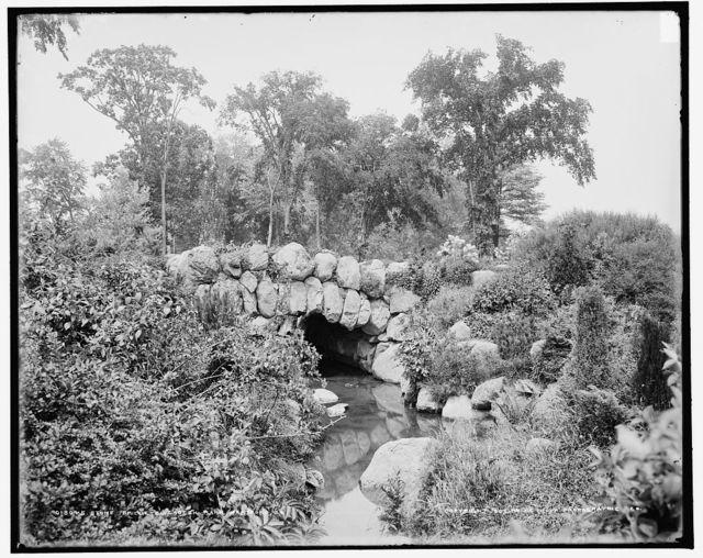 Stone bridge, Elizabeth Park, Hartford, Ct.