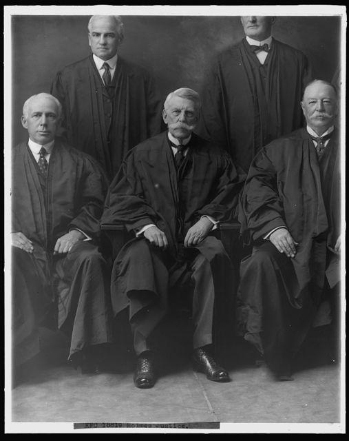SUPREME COURT, U.S. JUSTICE HOLMES
