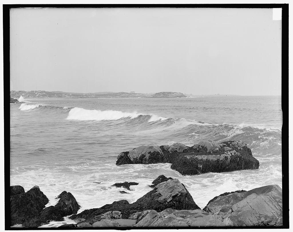 [Surf at Bass Rocks, Gloucester, Mass.]