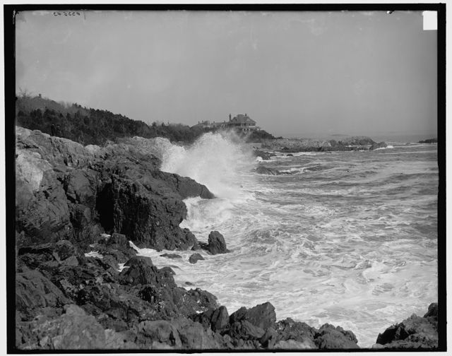 [Surf at Marblehead Neck, Marblehead, Mass.]
