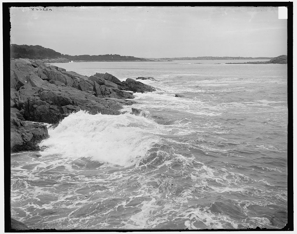 [Surf at Norman's Woe, Magnolia, Mass.]