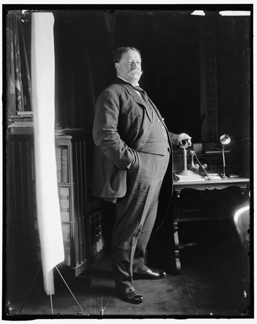 [TAFT, WILLIAM HOWARD]