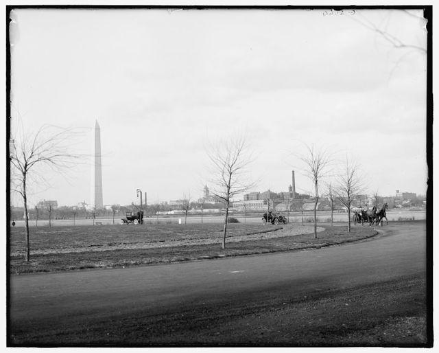 [The Boulevard, Potomac Park, Washington, D.C.]