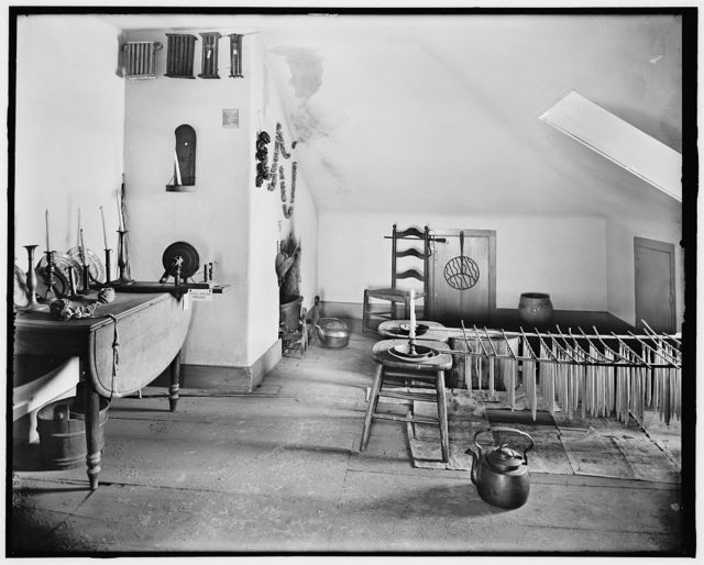 [The Candle room, Washington's headquarters (i.e. Morris-Jumel mansion), New York, N.Y.]