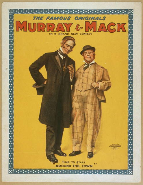 The famous originals Murray & Mack in a brand new comedy