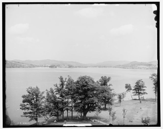The Lake from Prospect House, Lake Bomoseen, Vt.