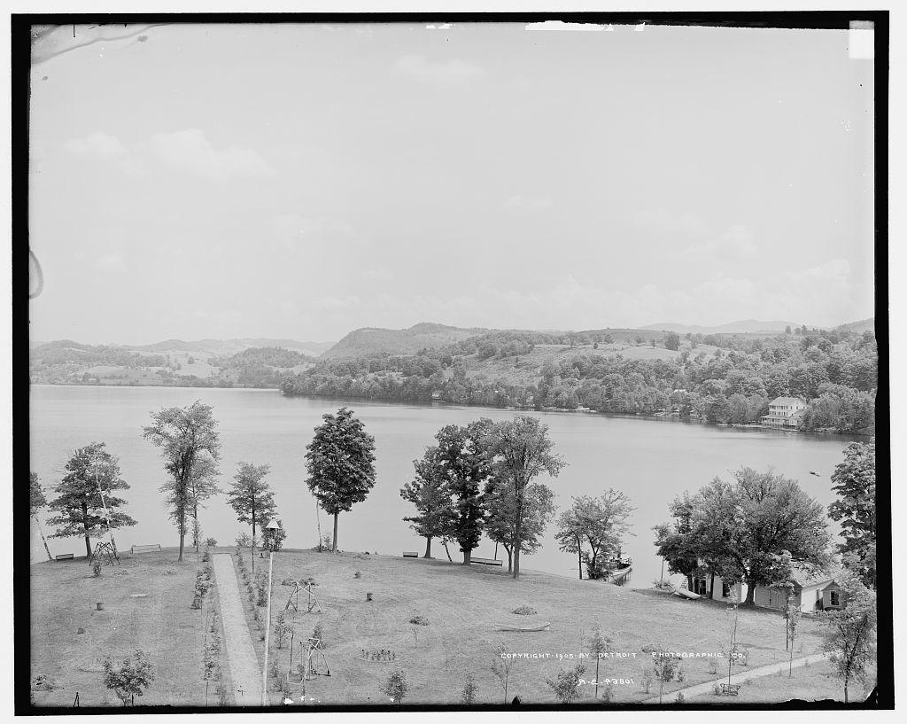 The Lake from Prospect House, Lake Bomoseen, Vt.
