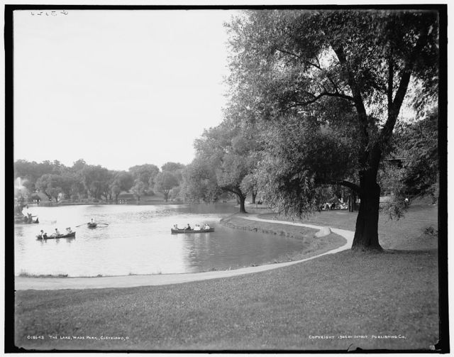 The Lake, Wade Park, Cleveland, O[hio]