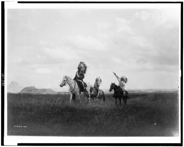 [The march of the Sioux]