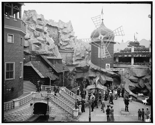 The Old mill, Luna Park, Coney Island, N.Y.