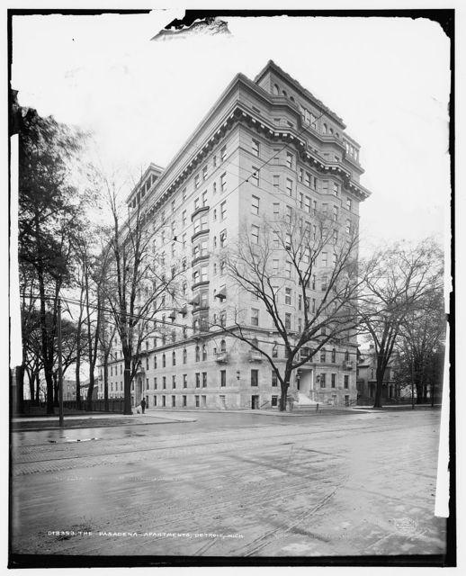The Pasadena Apartments, Detroit, Mich.
