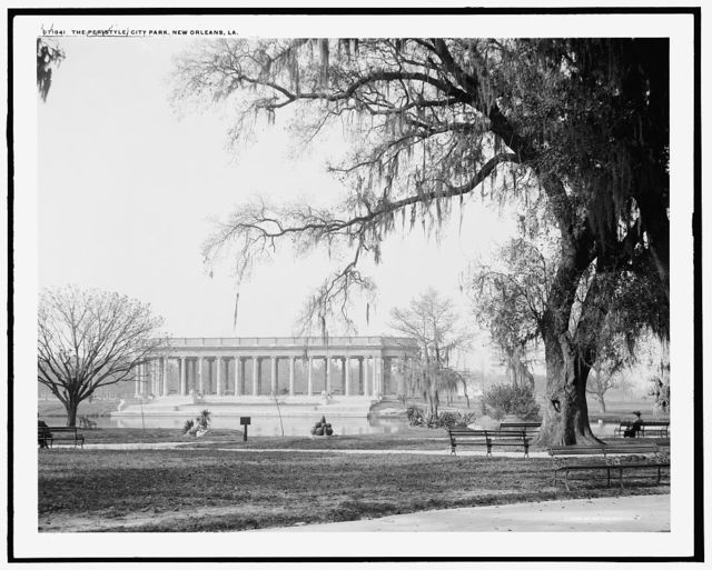 The Peristyle, City Park, New Orleans, La.
