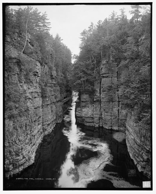 The Pool, Ausable Chasm, N.Y.