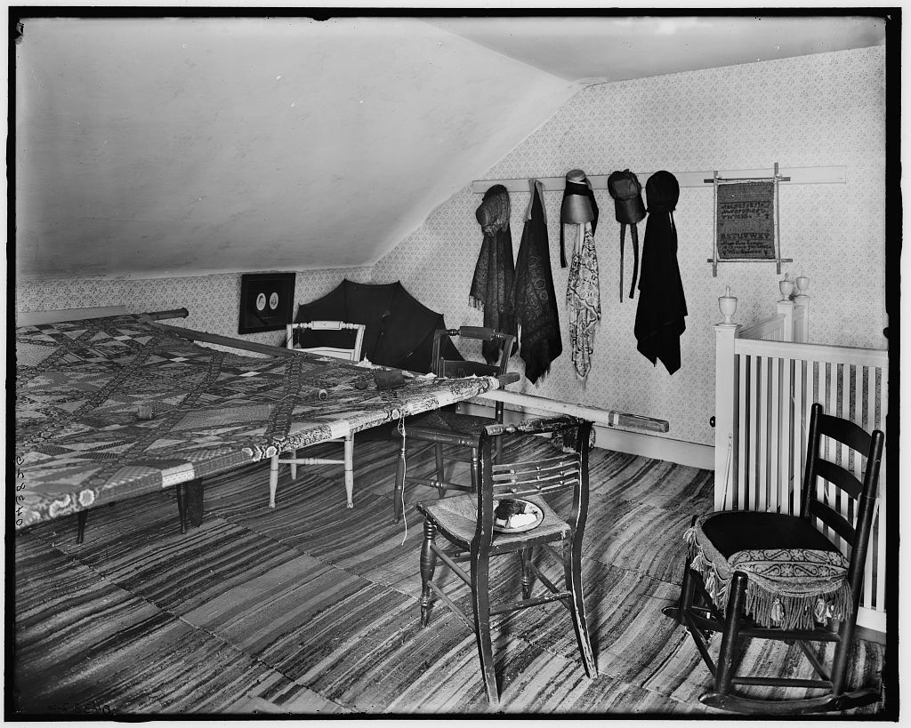 [The Quilting room, Washington's headquarters (i.e. Morris-Jumel mansion), New York, N.Y.]