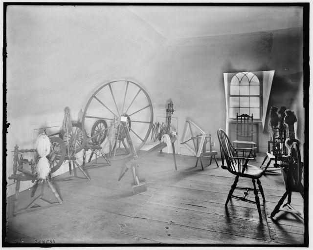 [The Spinning room, Washington's headquarters (i.e. Morris-Jumel mansion), New York, N.Y.]