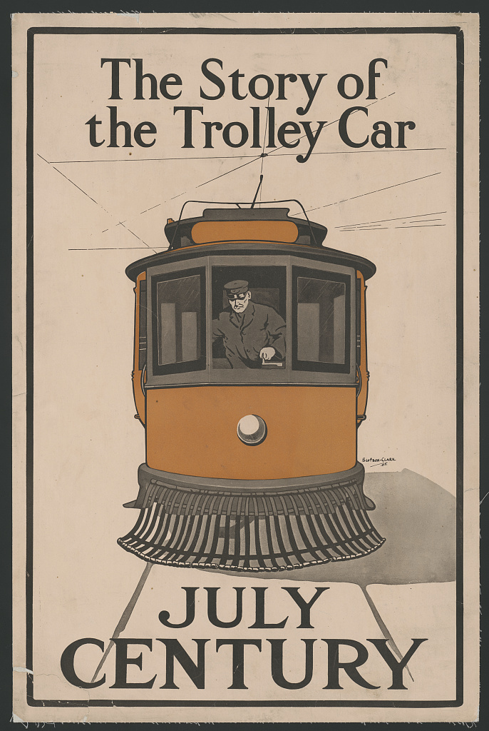 The story of the trolley car. July Century