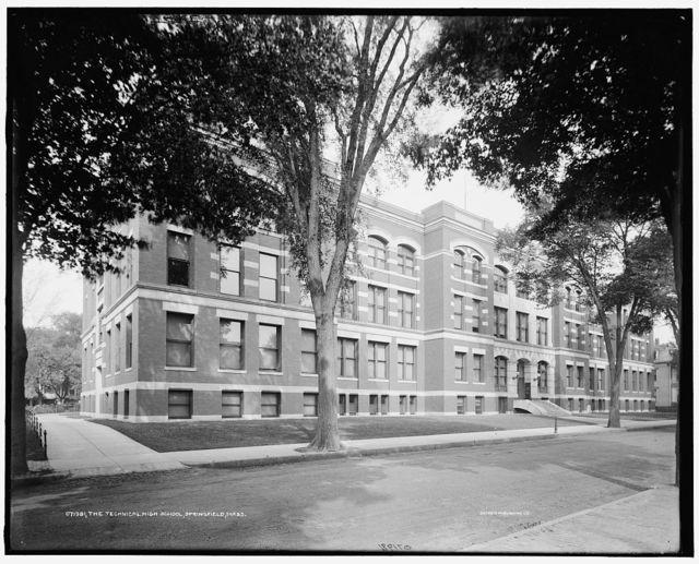 The Technical high school, Springfield, Mass.