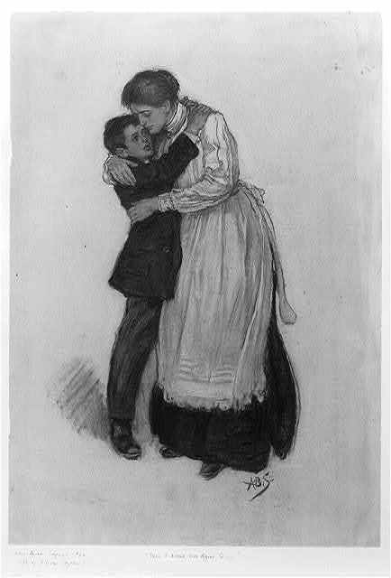 [Then I kissed Mrs. Agnes Quine ...]