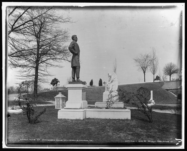 Tomb of Jefferson Davis, Hollywood [Cemetery], Richmond, Va.