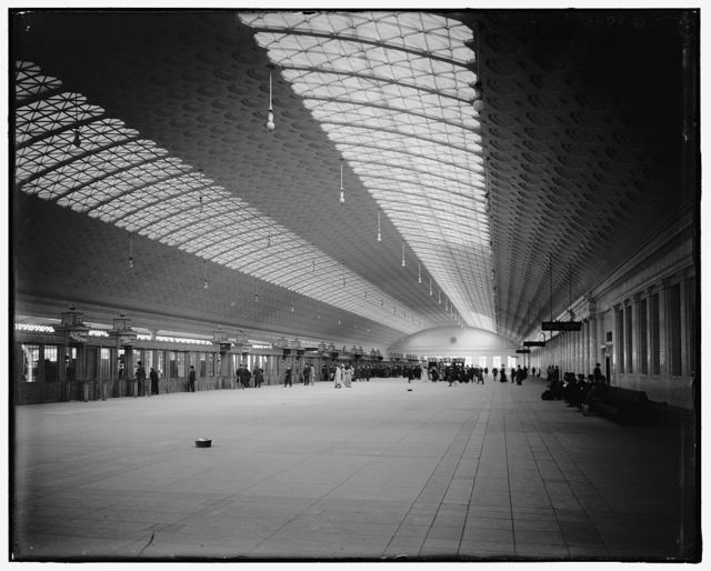 [Train concourse, new Union Station, Washington, D.C.]