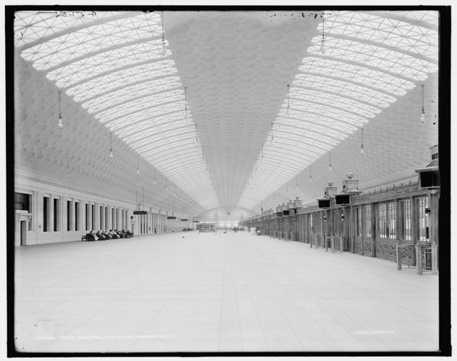 Train concourse, Union Station, Washington, D.C.