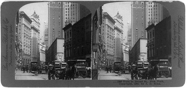 Turn in Broad St., New York