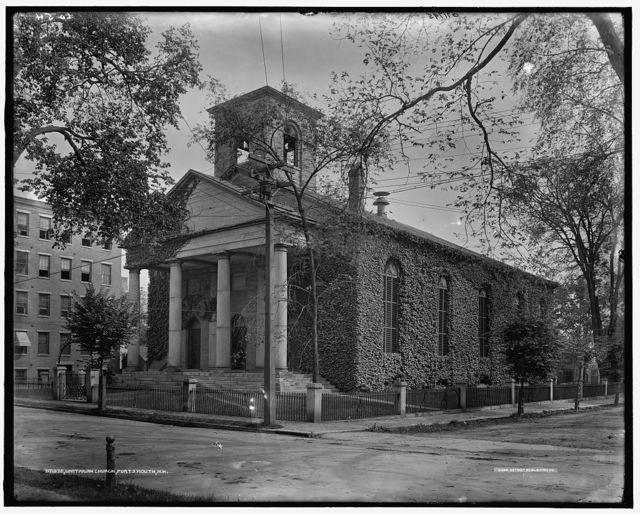 Unitarian church, Portsmouth, N.H.