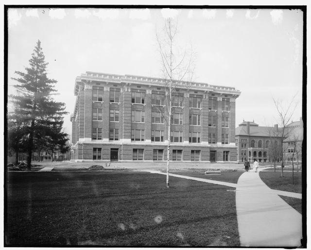 [University of Michigan, s.e. corner, Chemistry Building, Ann Arbor, Mich.]