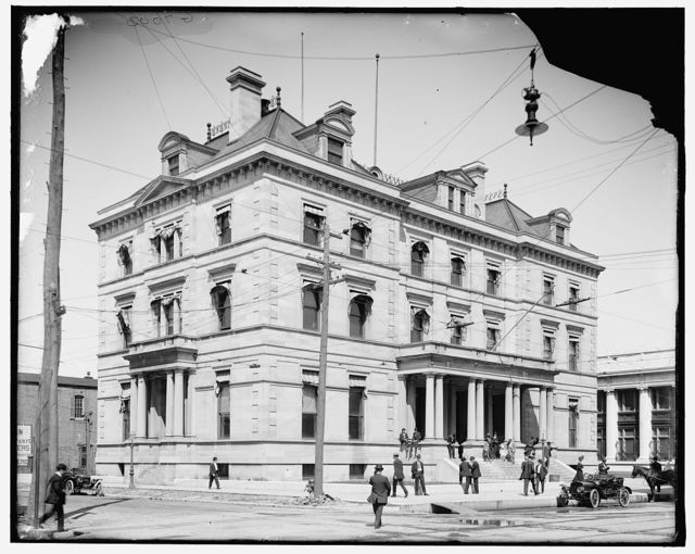 [U.S. custom house and post office, Pensacola, Fla.]
