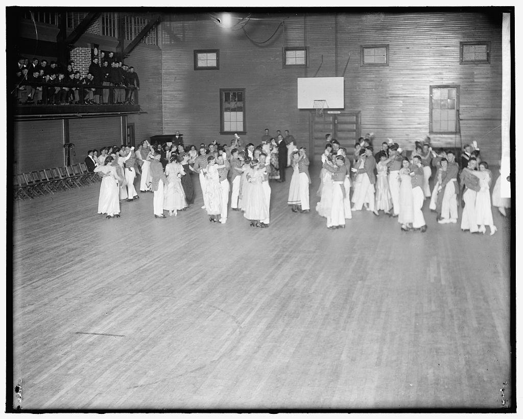 VIRGINIA P.I. DANCE AT GYM