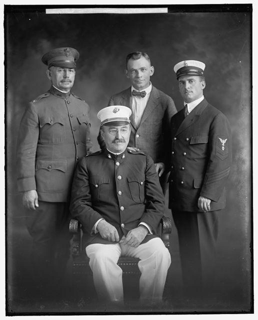 WAR CAMP COMM., SERVICE LEADER