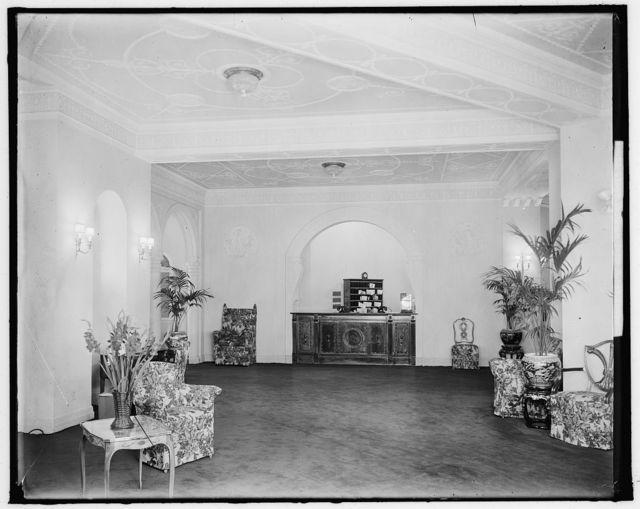 WARDMAN PARK HOTEL LOBBY