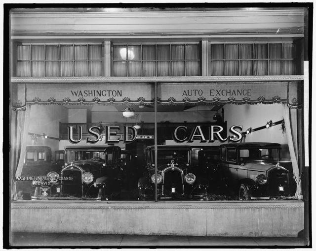 WASHINGTON AUTO EXCHANGE