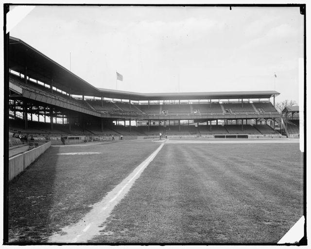 WASHINGTON BASEBALL GRAND STAND