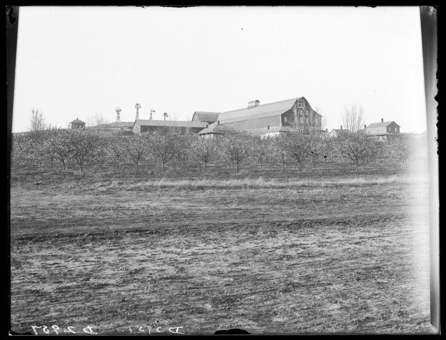 Watson Ranch barn near Kearney, Nebraska, the largest barn in the state..