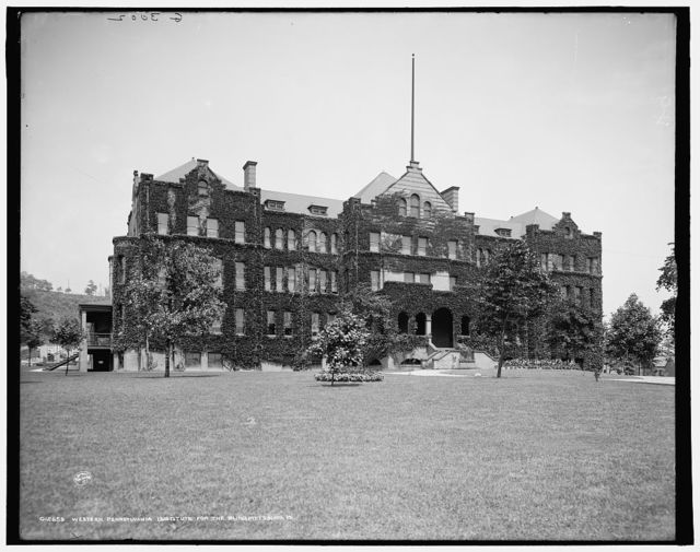 Western Pennsylvania Institute for the Blind, Pittsburg, Pa.