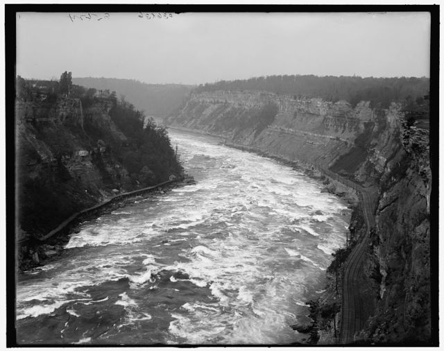 [Whirlpool Rapids from above, Niagara Falls, N.Y.]