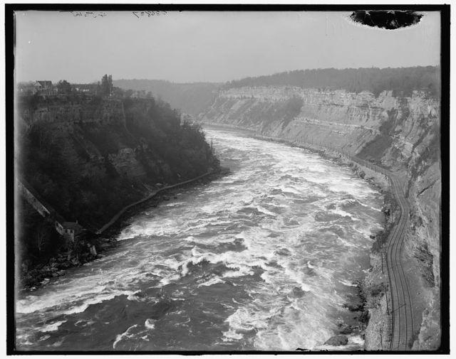 [Whirlpool Rapids from above, Niagara Falls, N.Y.]