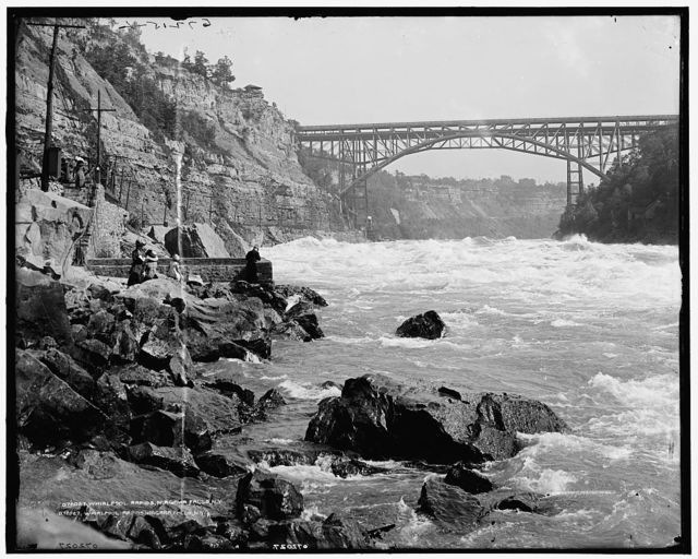 Whirlpool Rapids, Niagara Falls, N.Y.