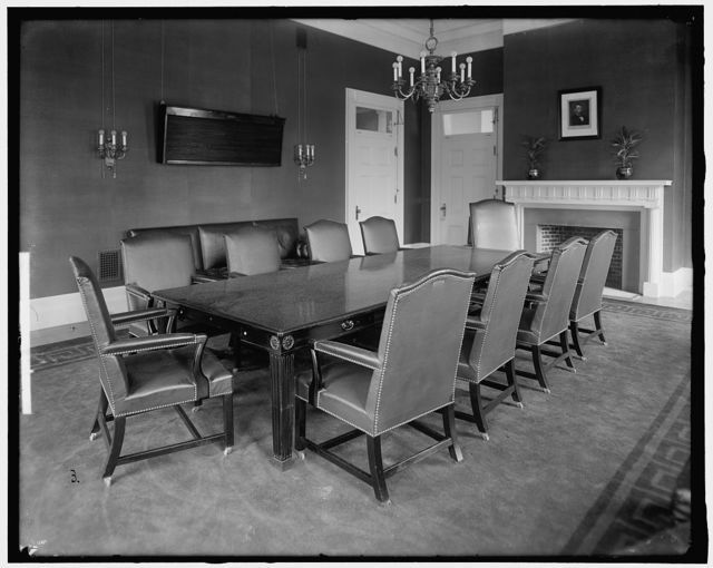 WHITE HOUSE. CONFERENCE ROOM