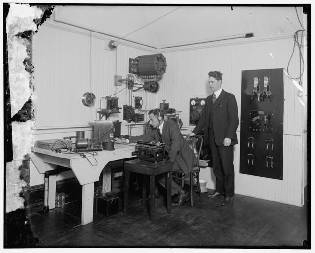 Wireless apparatus at Post Office Dept.