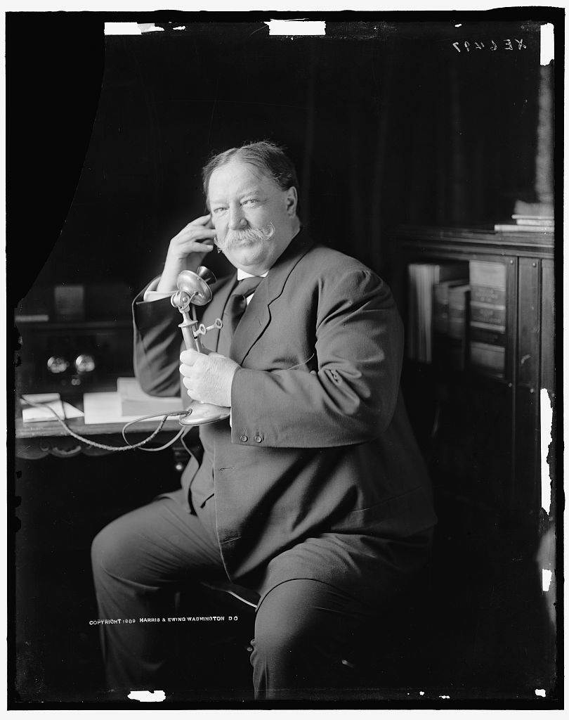 [WM. H. TAFT] ON TELEPHONE