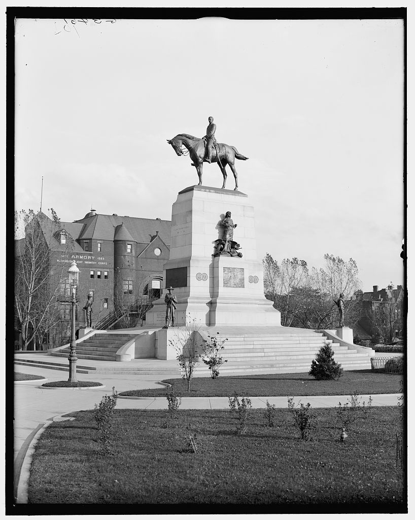 [Wm. T. Sherman Monument, Washington, D.C.]